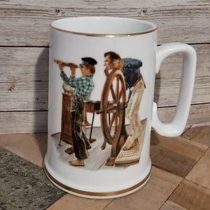 Norman Rockwell Vintage Collectible Coffee Mug